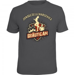 Fun T-Shirt - JGA Bräutigam