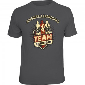 Fun T-Shirt - JGA Team Bräutigam
