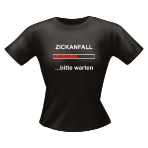 Fun Lady Shirt Zickanfall