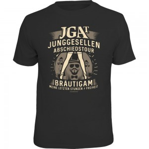 Fun T-Shirt - JGA Tour Bräutigam