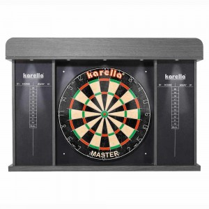 Dartboaord-Cabinet ARENA mit LED - Beleuchtung