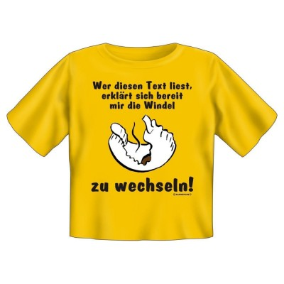 Kids Fun T-Shirt - Wer diesen Text